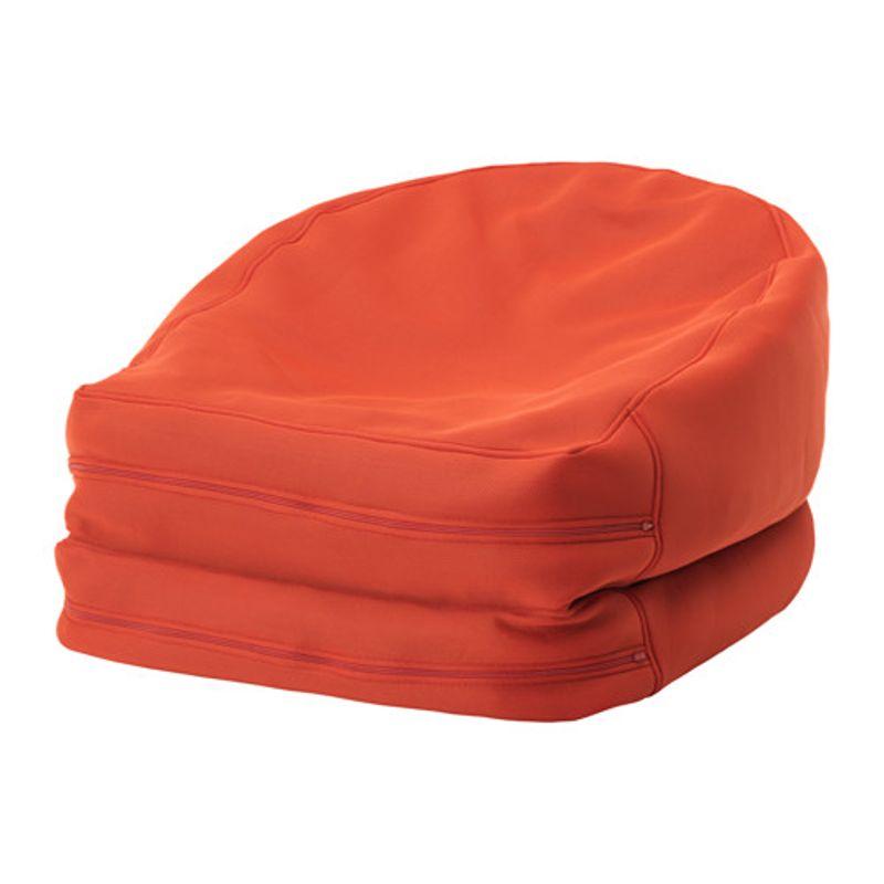 Купить со скидкой Пуф-мешок д/дома/сада, БУССЭН оранжевый