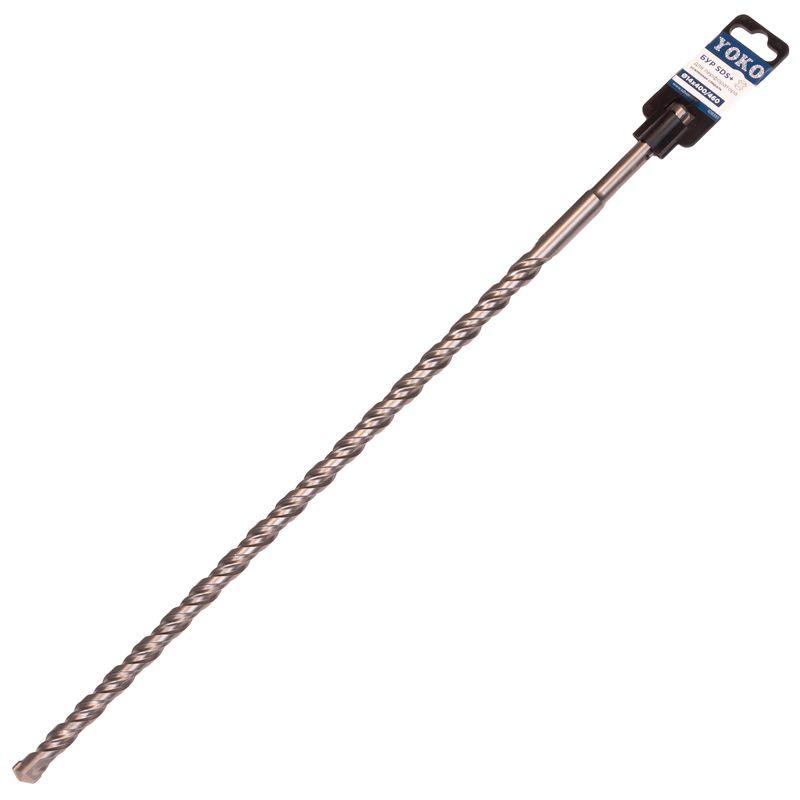 Бур SDS+ 14х400/460мм Yoko<br>Бренд: Yoko; Модель: Sds+ 14х400/460; Код производителя: 109351; Тип: Шнековый; Тип хвостика: SDS-plus; Тип спирали: Одинарный; Область применения: Бетон, кирпич; Общая длина: 460 мм; Рабочая длина: 400 мм; Диаметр: 14 мм; Количество в упаковке: 1 шт; Размеры: 14х460 мм; Родина бренда: Россия; Страна производитель: Китай; Вес: 0,290 кг;
