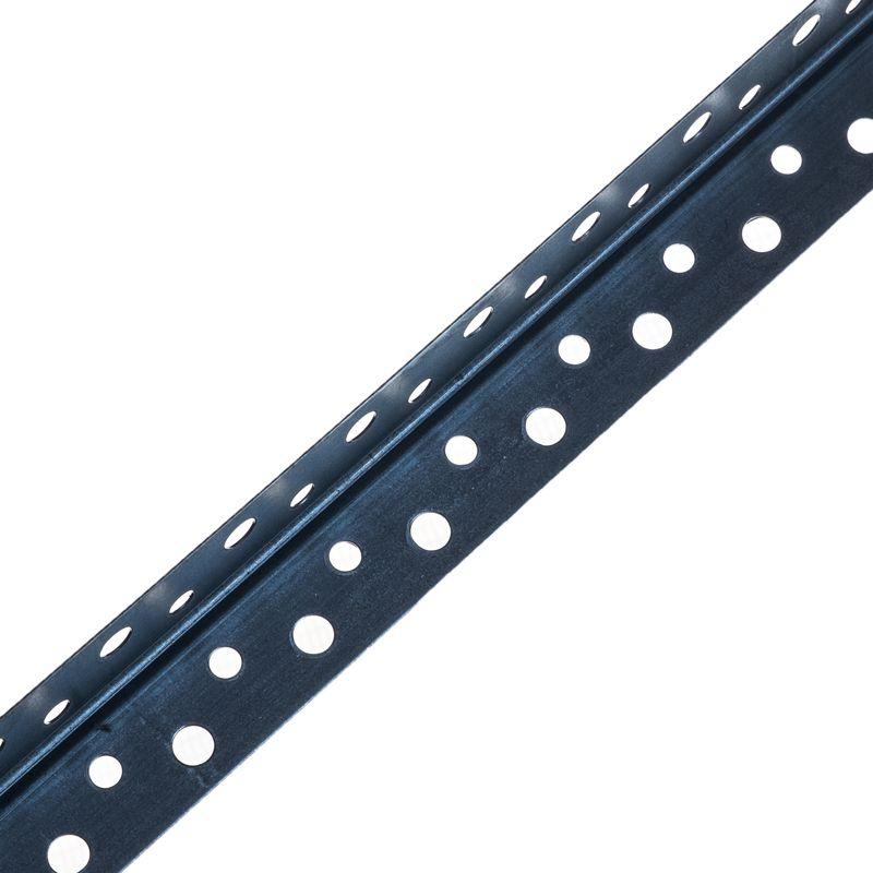 Уголок для гипсокартона оцинкованный 20×20 мм, 3 м