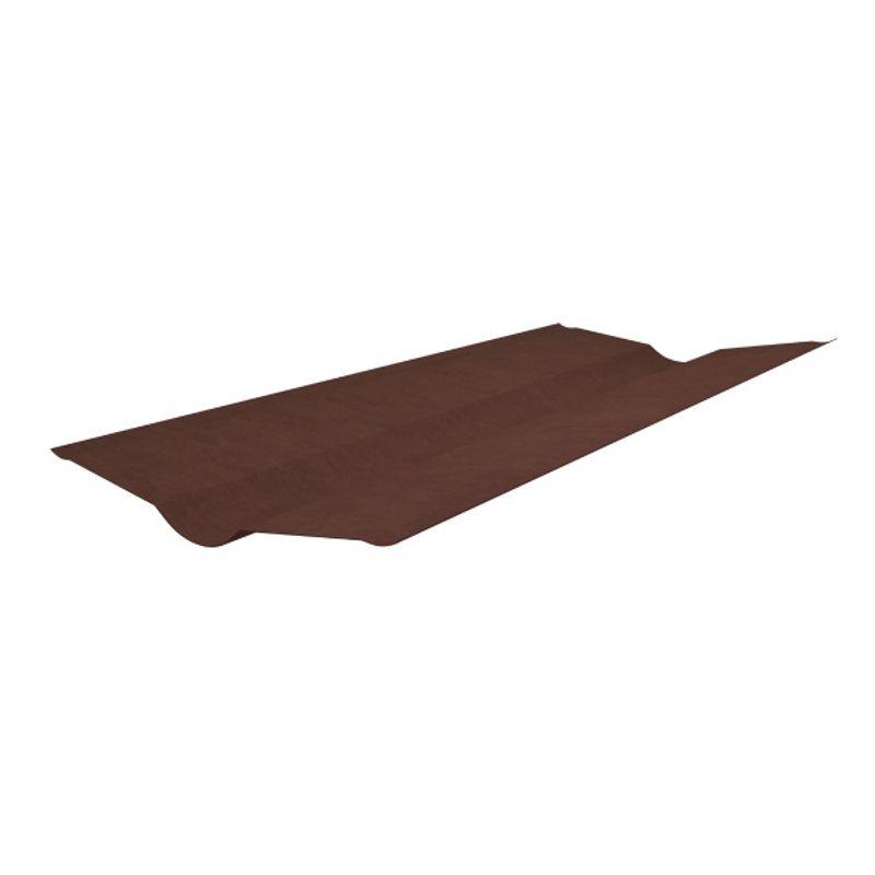 Ендова Onduline красная 1000 х 360 ммИспользуется для оформления стыка кровли с вертикальной стеной, а также<br>для оформления ендов крыши.<br><br>RAL: 3001; Полезная длина: 850 мм; Толщина: 3 мм; Бренд: Onduline; Вес: 1,32 кг; Цвет: Красный; Назначение: Еврошифер; Цвет производителя: Красный; Длина: 1000 мм; Расположение: Нижняя; Ширина: 360 мм; Покрытие: Модифицированный битум;