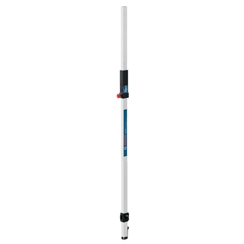 Измерительная рейка GR 240Рейка GR 240 Professional BOSCH<br><br>Профессиональная телескопическая рейка для линейного лазерного нивелира.<br><br>НАЗНАЧЕНИЕ:<br><br>Измерение высоты над уровнем земли в помещении и на открытом воздухе.<br><br>ПРЕИМУЩЕСТВА:<br><br>Долговечность (алюминиевый профиль);<br>Универсальность (крепление для детекторов излучения; двухсекционная раздвижная конструкция; вертикальное выравнивание благодаря пузырьковому уровню; две шкалы измерений: сантиметры, миллиметры);<br>Безопасность (устойчивость благодаря откидной подставке);<br>Удобство в использовании (вес 1,3 кг; компактные габариты; чехол для хранения).<br>