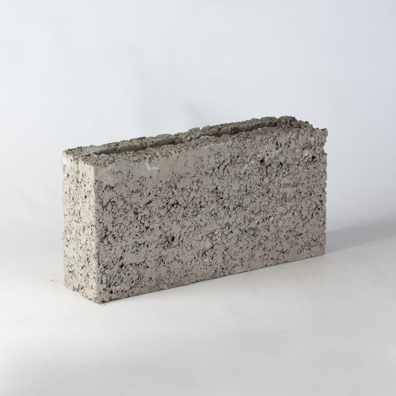 Блок керамзитобетонный М-35 390х90х188 мм