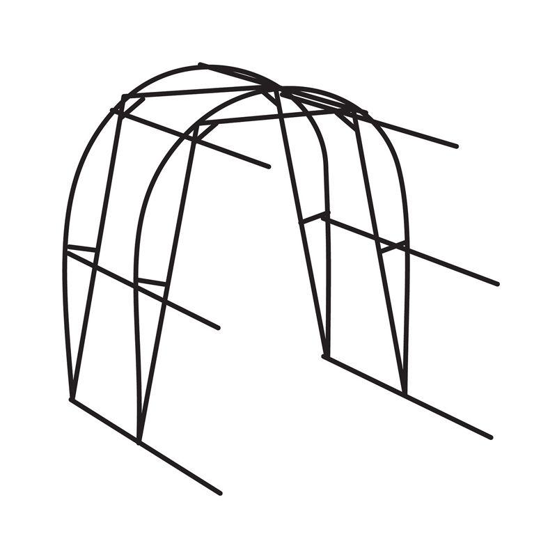 Дополнительная секция для теплицы Дачная-Эко 2м ВоляДополнительная секция для теплицы Дачная-Двушка, Воля<br><br>Двухметровая дополнительная секция для теплицы<br><br>НАЗНАЧЕНИЕ:<br><br>· Увеличение базовой длины теплицы Двушка кратно 2 метрам<br>· Для создания благоприятного микроклимата, для садово-<br>огородных культур на приусадебных участках.<br>· Рассчитана на скорость ветра до 24 м/с<br>· Под поликарбонат или пленку<br><br>ПРЕИМУЩЕСТВА:<br><br>· Прочный каркас,<br> из оцинкованного металлического профиля выдерживает снеговые нагрузки д<br>о 240 кг/м2<br>· Материал не подвержен коррозии (оцинкованная сталь)<br>· Удобство транспортировки на легковом автомобиле,<br> максимальная длина упаковки 1,7 метра<br>· Простота монтажа (ставится на землю, без фундамента)<br><br>РЕКОМЕНДАЦИИ:<br><br>· Собирайте конструкцию рядом с местом установки<br>· Соединяйте конструкцию по предусмотренным отверстиям<br>· Уточните номер вашего снегового района, если выше V,<br> то рекомендуется контролировать снеговую нагрузку <br>(счищать снеговую шапку и снижать боковое давление на стенки)<br>· Мыть поликарбонат теплой мыльной водой и мягкой губкой,<br> после ополоснуть холодной водой и просушить тканью.<br>· При раскрое листа поликарбоната в ветряную погоду,<br> зафиксируйте края грузом.<br>· Поликарбонат устанавливать защитной стороной наружу.<br><br>МЕРЫ ПРЕДОСТОРОЖНОСТИ:<br><br>· Соблюдайте инструкции по сборке и монтажу<br>· Устанавливайте на расстоянии 2 м от деревьев <br>(чтобы избежать падение снега и льда на каркас)<br>· Не чистить поликарбонат абразивными и высокощелочными составами<br>· Протирка сухой тряпкой повредит защитный слой, уменьшит срок службы<br>· Для обработки от насекомых, не применяйте «серные шашки»,<br> может спровоцировать<br>коррозию каркаса.<br>· Остерегайтесь порезов, у деталей острые углы,<br> работайте в защитных перчатках.<br>Материал каркаса: Оцинкованная сталь; Толщина профиля: 1,0 мм; Материал покрытия: Поликарбонат; Модель: Для Дачная-Двушка; Шири