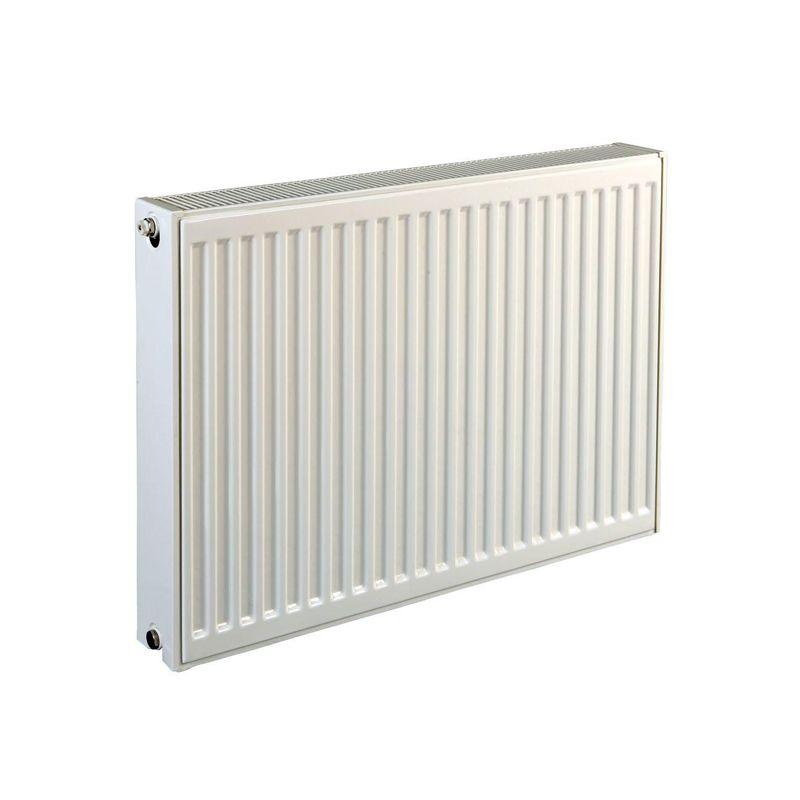 Радиатор стальной панельный C 22 500х1200 боковое RAL 9016 Q (105/75/20C)=2650 Вт Heaton Smart<br>
