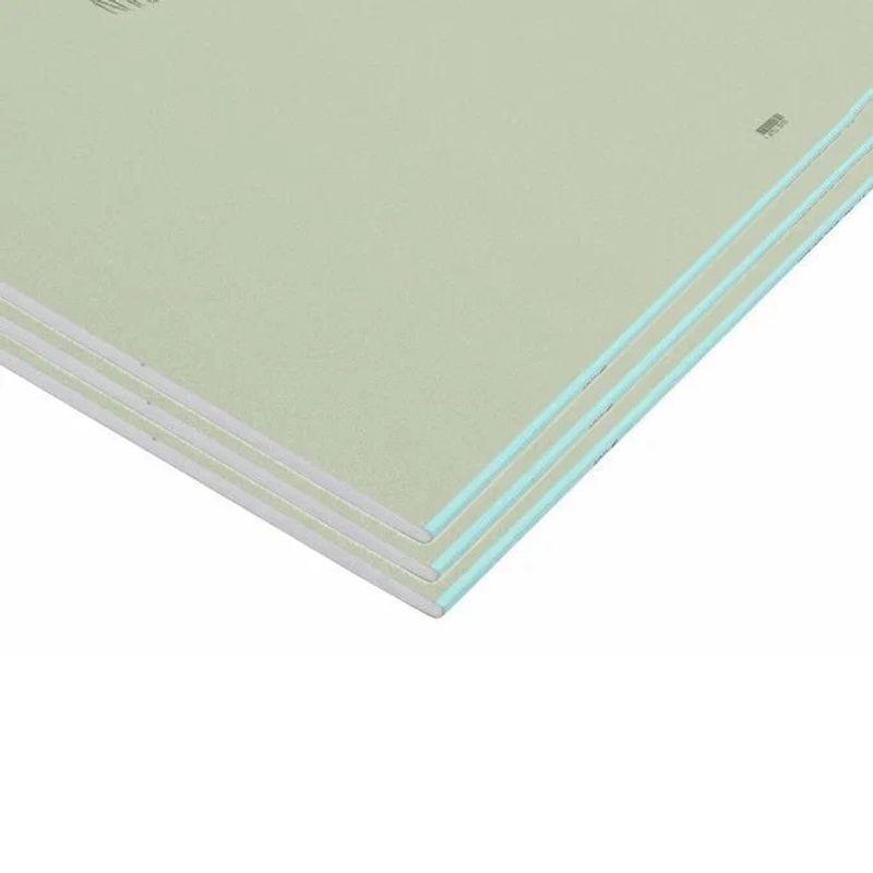 Лист гипсокартонный влагостойкий Кнауф, 1500×600×12,5 мм