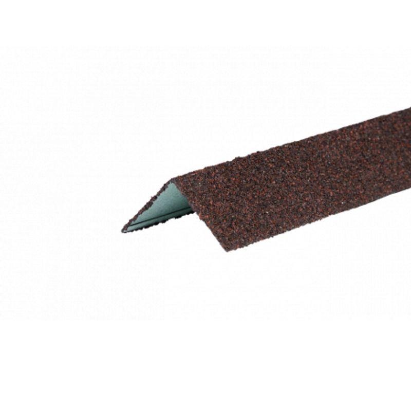Угол металлический внешний ТехноНИКОЛЬ Hauberk Обожжённый кирпич, 50х50х125