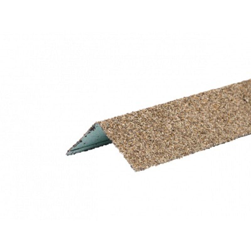 Угол металлический внутренний HAUBERK(песчаный кирпич) 50х50х1250мм, ТЕХНОНИКОЛЬ