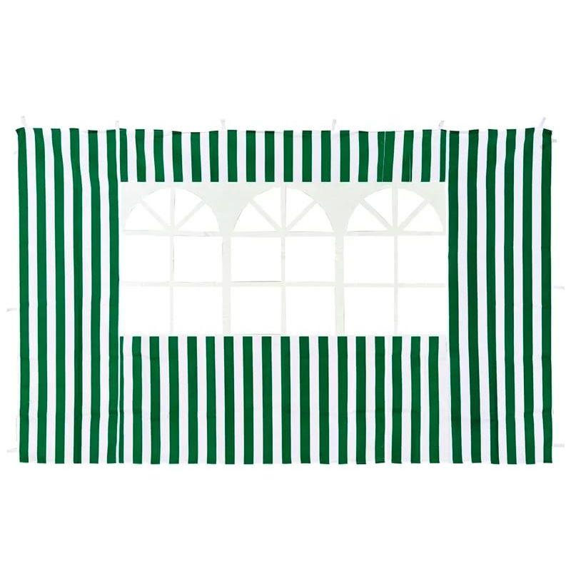 Стенка с окном для садового тента 4110 зеленая GreenGlade<br>Цвет: Зеленый;