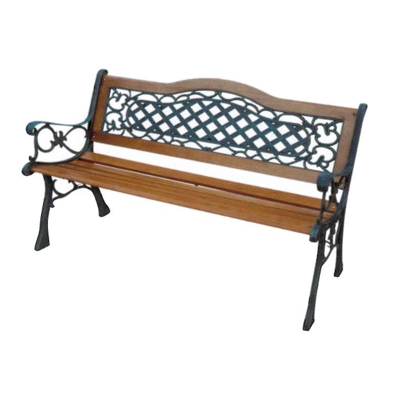 Скамейка садовая K067 GreenGladeСкамейка садовая GreenGlade K067<br><br>Садовая деревянная скамья с металлической основой для благоустройства дачного или садового участка.<br><br>НАЗНАЧЕНИЕ:<br><br>Отдых на свежем воздухе;<br>Декоративный элемент в саду.<br><br>ПРЕИМУЩЕСТВА:<br><br>Легкая (вес 20 кг);<br>Экологичная (не содержит трудноразлагаемых элементов);<br>Эргономичная (анатомическая форма сиденья и подлокотников, высокая спинка);<br>Надежная (корпус из чугунного сплава, сиденье и спинка деревянные, выдерживает нагрузку до 130 кг);<br><br>Простая сборка (справится 1 человек).<br><br>РЕКОМЕНДАЦИИ:<br><br>Устанавливать скамью на твердой поверхности, либо застилать почву жестким покрытием;<br>Рекомендуется устанавливать скамью в тени. Солнечные лучи разрушают лаковое покрытие, а летом возможно получение теплового или солнечного удара отдыхающими;<br>Регулярно затягивать крепящие болты;<br>Раз в сезон покрывать деревянные элементы скамьи лаком, а металлические - краской.<br>На зимний период и в дождливую погоду убирать скамью в сухое место.<br>Полировать дерево наждачной шерстью, металл - стальной шерстью.<br>Ширина: 60 см; Ширина сиденья: 60 см; Особенности конструкции: Кованая; Длина: 124 см; Высота сиденья: 40 см; Высота: 81 см; Вес: 20 кг; Производитель: GreenGlade; Материал: Чугун+дерево;