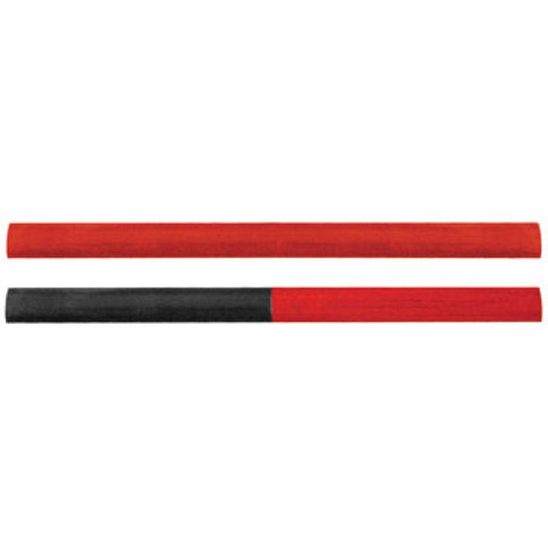 Карандаши строительные, 180 мм, 2-х цветные, 2шт. в блистере, FIT IT