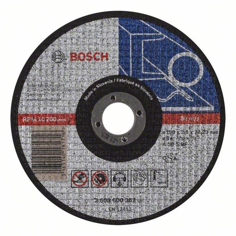 Круг по металлу отрезной 150х2,5, BOSCH