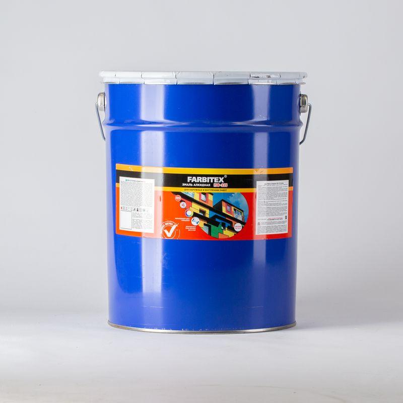 Эмаль ПФ-115 FARBITEX светло-серая, 20кг