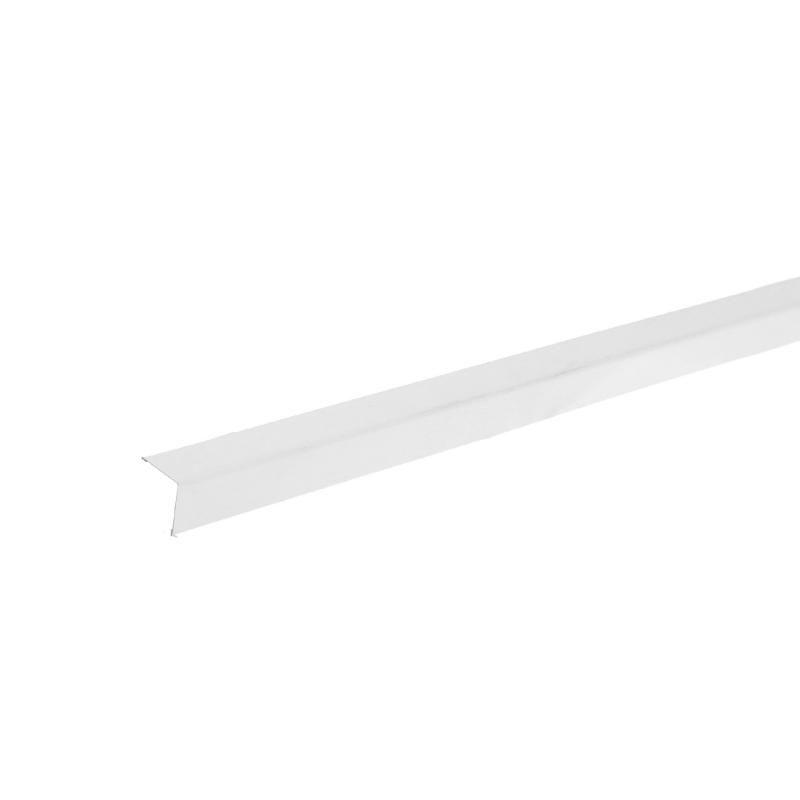 Уголок 19х19 стальной белый L=3.0 м<br>Длина: 3 м; Ширина: 19 мм; Высота: 19 мм; Материал: Оцинкованная сталь; Цвет производителя: Белый; Цвет: Белый;