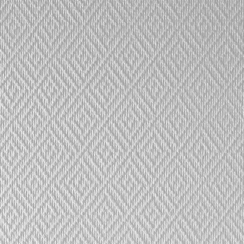 Стеклообои Wellton Classika Ромб WEL430<br>Бренд: Wellton; Страна производитель: Швеция; Коллекция: Wellton classika; Артикул: Wel430; Длина рулона: 25 м; Ширина рулона: 1 м; Площадь рулона: 25 м?; Тип обоев: Стеклообои; Материал основы: Стеклоткань; Цвет производителя: Белый; Тип рисунка: Абстракция; Фактура: Рельефная; Стиль: Классика; Окрашивание: Под покраску; Число перекрашиваний: До 30 раз; Нанесение клея: На стену; Плотность: 155 г/м?; Особые свойства: Трудновоспламеняемость; Особые свойства: Возможность мытья; Особые свойства: Влагостойкость; Особые свойства: Прочность; Особые свойства: Износостойкость; Особые свойства: Долговечность; Особые свойства: Экологичность; Тип помещения: Прихожая и коридор; Тип помещения: Гостиная; Тип помещения: Ванная; Тип помещения: Кухня; Срок эксплуатации: Более 50 лет; Цветовая гамма: Белый; Дизайн: Однотонный;