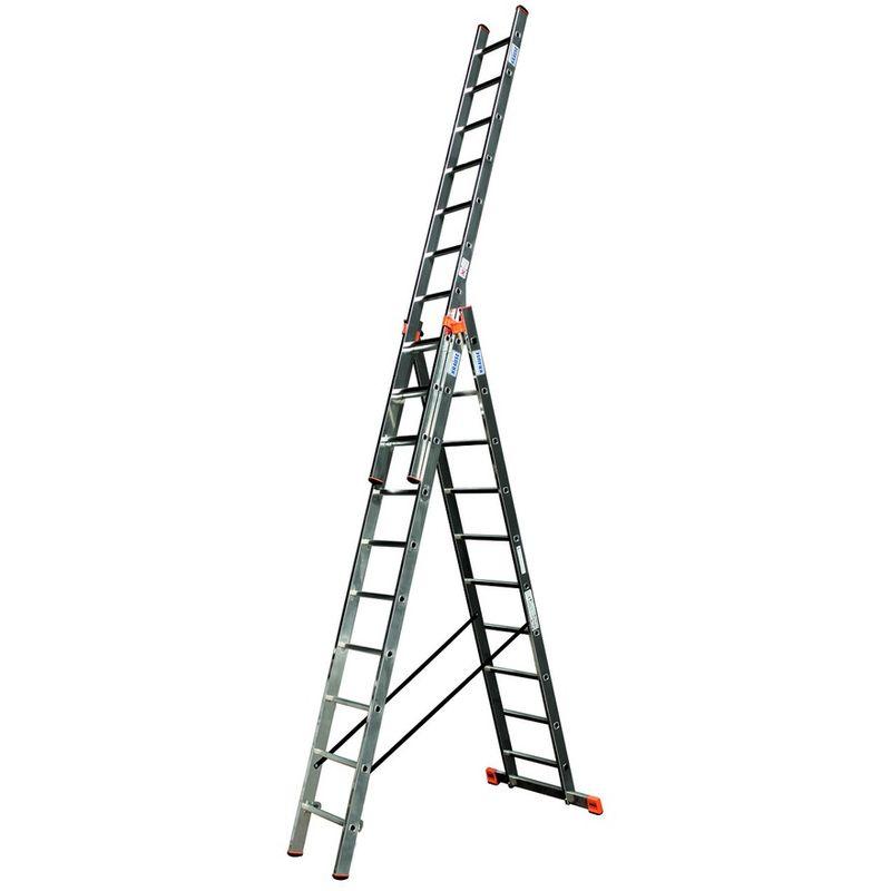 Универсальная лестница с дополнительной функцией Krause Tribilo, 765 см