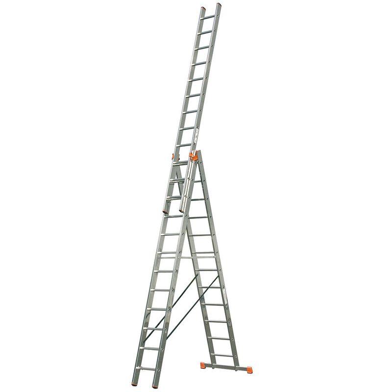 Универсальная лестница с дополнительной функцией Krause Tribilo, 930 см