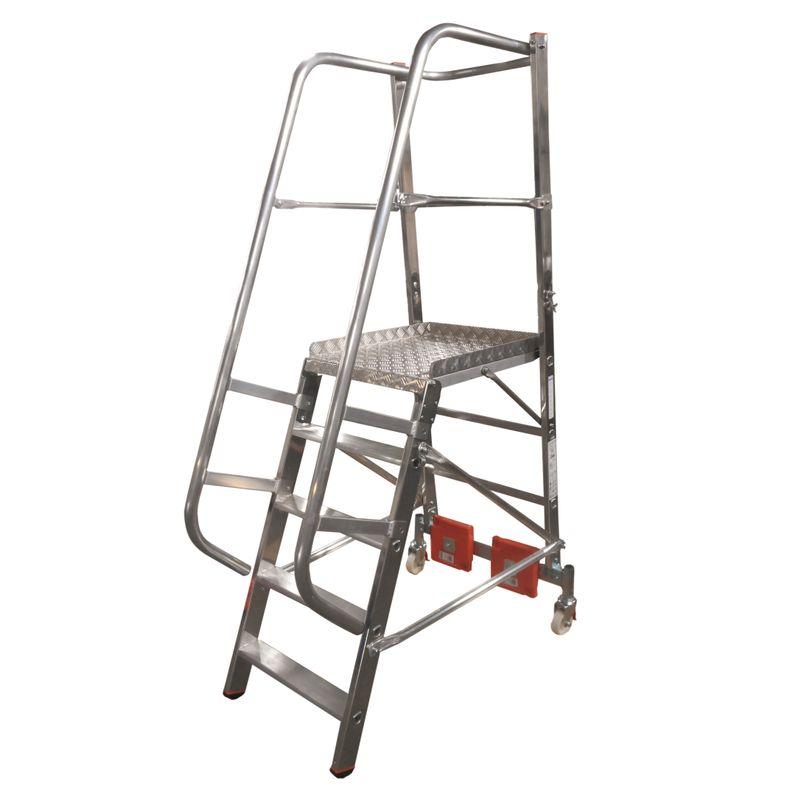 Лестница с платформой Krause Vario, 310 см