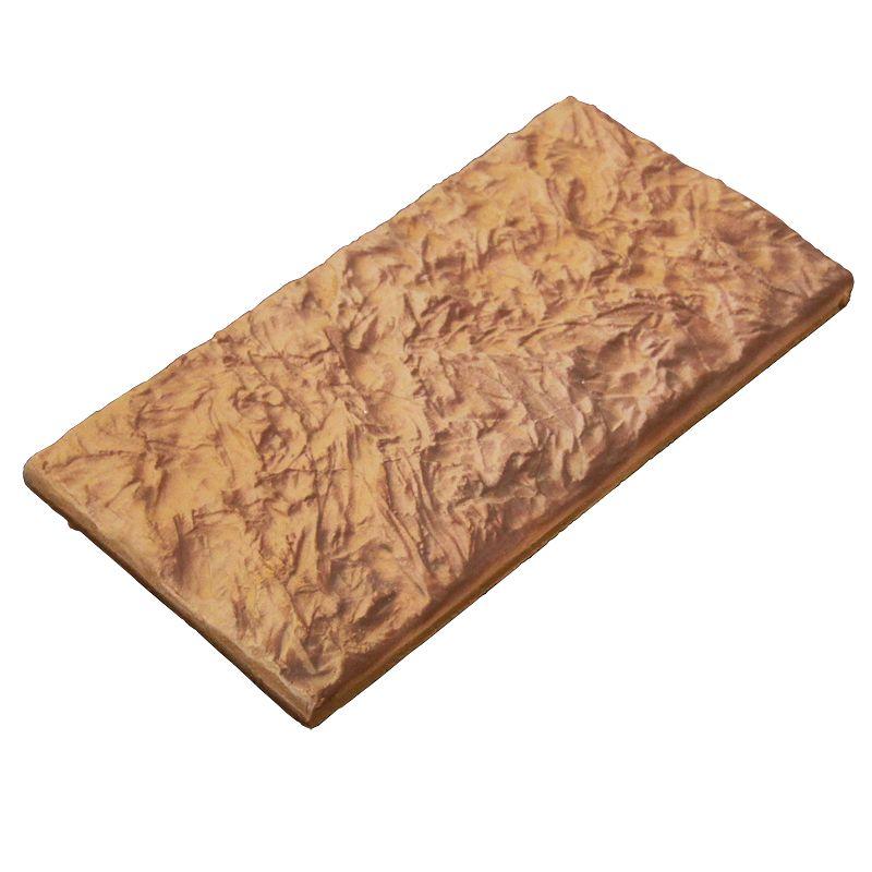 Камень декоративный Старый Замок Макси 123х263 мм (0,8 м.кв. в упак.)Плитка «Терракот» изготовлена из белой каолиновой глины без каких-либо добавок путем обжига при температуре свыше 1100 градусов Цельсия; не выцветает под действием солнечных лучей, высокой и низкой температуры, атмосферных осадков, ветра;<br>не изменяет геометрическую форму под действием солнечных лучей, высокой и низкой температуры, атмосферных осадков;<br>не разрушается под действием влаги и холода. Морозостойкость плитки составляет 75 циклов;<br>не разрушается под действием высоких температур. Жаростойкость плитки составляет 1100 градусов Цельсия, что позволяет широко применять терракотовую плитку для облицовки печей, каминов, барбекю, мангальных зон и банных экранов;<br>не выделяет никаких запахов и испарений;<br><br><br>Бренд: Терракот; Особые свойства: Жаростойкость 1100°С; Размер плитки: 263х123х10 мм; Коллекция: Старый Замок Макси; Цвет производителя: Терракотовый теплый; Тип работ: Для наружных работ; Дизайн: Камень; Материал: Глина; Водопоглащение: 7 %; Морозостойкость: F 100; Класс прочности на сжатие: B 30; Класс прочности на изгиб: Btb 16; Количество: 22 шт/уп; Площадь: 0,88 м?/уп; Вес: 18,4 кг; Производитель: Терракот; Страна производитель: Россия; Цвет: Коричневый;