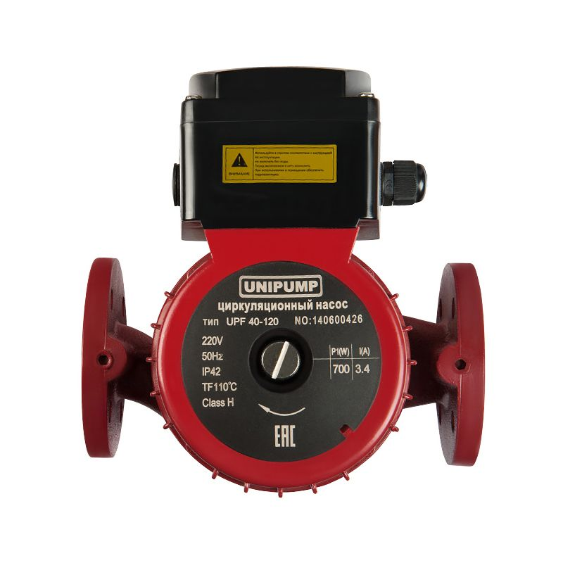 Насос циркуляционный Unipump UPF 40-160 250<br>Вид: Поверхностный; Тип: Циркуляционный; Применение: Для систем отопления; Применение: Промышленные циркуляционные системы; Производительность: Q max 13 м?/час; Максимальный напор: 16 м; Минимальная температура рабочей среды: + 2 °С; Максимальная температура рабочей среды: + 110 °С; Мощность: 1000 Вт; Напряжение: 220 В; Монтажная длина: 250 мм; Вес: 20,15 кг; Присоединительный размер: Dn 40; Тип ротора: Мокрый; Материал корпуса: Чугун; Степень защиты: IP 42; Комплектация: С фланцем; Бренд: Unipump; Страна производитель: Россия; Модель: Upf 40-160; Гарантия: 1 год;