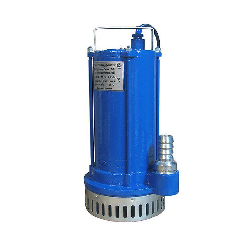 Насос дренажный ГНОМ 10х10 380В Ливгидромаш<br>Вид: Погружной; Тип: Дренажный; Максимальный размер частиц: 5 мм; Глубина погружения: 7 м; Высота подъема воды: 10 м; Минимальная температура воды: 0 °С; Максимальная температура воды: + 35 °С; Напряжение: 380 В; Вес: 15 кг; Присоединительный диаметр: 50 ; Длина кабеля: 10 м; Дополнительные функции: Поплавковый выключатель; Бренд: ГИДРОМАШСЕРВИС; Страна производитель: Россия; Модель: Гном 10-10; Гарантия: 1 год;