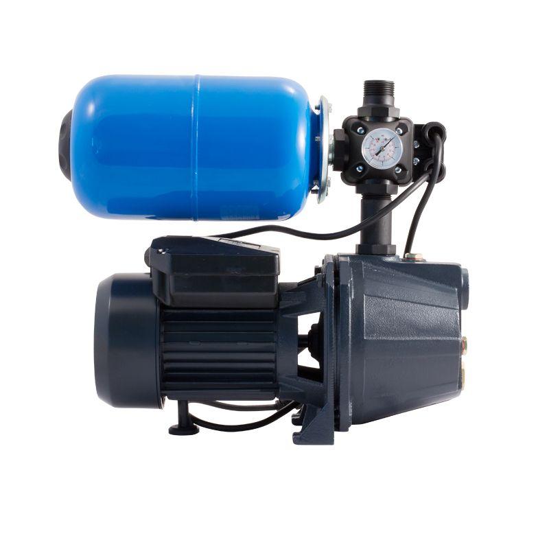 Насосная станция Unipump AUTO JET 40 S-5<br>Вид: Поверхностная; Применение: Водоснабжение; Рабочая среда: Чистая вода; Объем бака: 5 л; Максимальный размер частиц: 1 мм; Допустимое содержание частиц: 100 г/м?; Производительность: 1,8 м?/час; Глубина всасывания: 8 м; Высота подъема воды: 30 м; Давление включения: 1,5 бар; Давление выключения: 3 бар; Минимальная температура воды: +1 °С; Максимальная температура воды: + 35 °С; Мощность: 370 Вт; Напряжение: 220-+10 В; Длина: 415 мм; Ширина: 210 мм; Высота: 375 мм; Вес: 12,6 кг; Присоединительный диаметр: 1 ; Материал корпуса: Чугун; Степень защиты: IP Х4; Комплектация: Гидробак; Комплектация: Штуцер для шланга; Комплектация: Реле давления; Комплектация: Манометр; Бренд: Unipump; Страна производитель: Россия; Модель: Uto jet 40 s-5; Гарантия: 2 года;