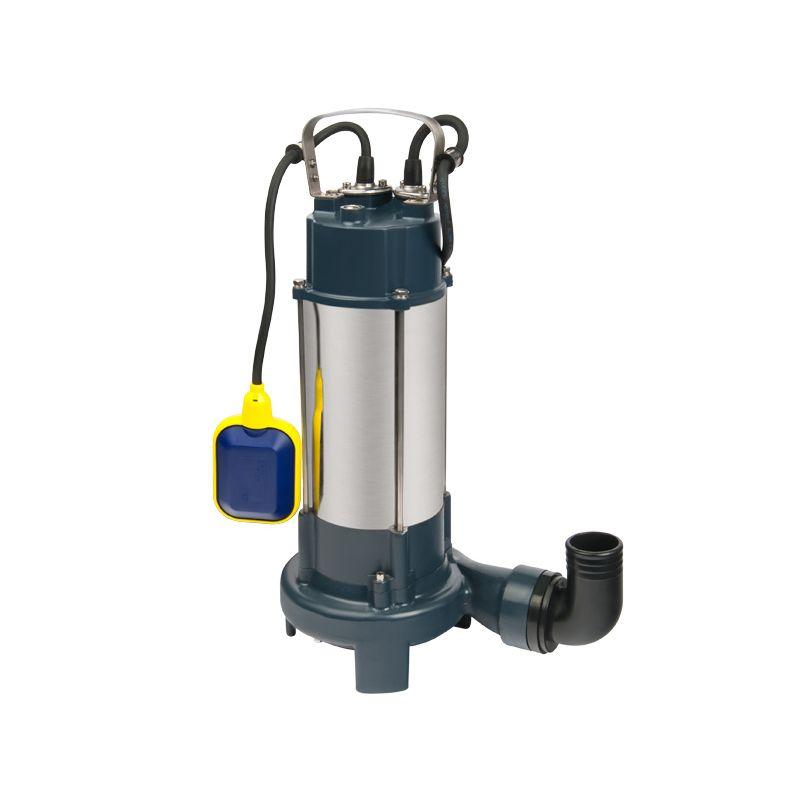 Насос фекальный Unipump FEKACUT V2200DF<br>Вид: Погружной; Тип: Дренажный; Максимальный размер частиц: 30 мм; Глубина погружения: 5 м; Высота подъема воды: 10 м; Минимальная температура воды: 0 °С; Напряжение: 220 В; Присоединительный диаметр: 89 ; Длина кабеля: 6 м; Бренд: Unipump; Страна производитель: Россия; Модель: V2200DF;