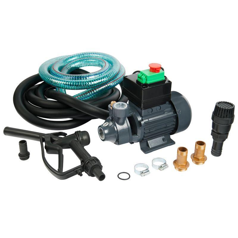 Насос для дизельного топлива Unipump BADT40S1<br>Бренд: Unipump; Мощность: 370 Вт; Ток: 1.4 А; Максимальный напор: 30 м; Длина кабеля: 1,5 м; Производительность: 40 л/мин; Температура перекачиваемой жидкости: От -10 до +30; Рабочая жидкость: Дизельное топливо; Модель: Badt40s1; Продолжительность цикла работы: до 30 мин; Температура окружающей среды: От -10 до +40; Перерыв между циклами работы: 30 мин; Комплектация: Насос, всасывающий шланг, напорный шланг, обратный клапан с фильтром, пистолет, штуцер для присоедин; Степень защиты: IP Ip55; Напряжение: 220 10 в, 50 гц В; Гарантия: 1 мес; Страна производитель: Китай; Срок службы: 7; Вес: 8.3 кг;