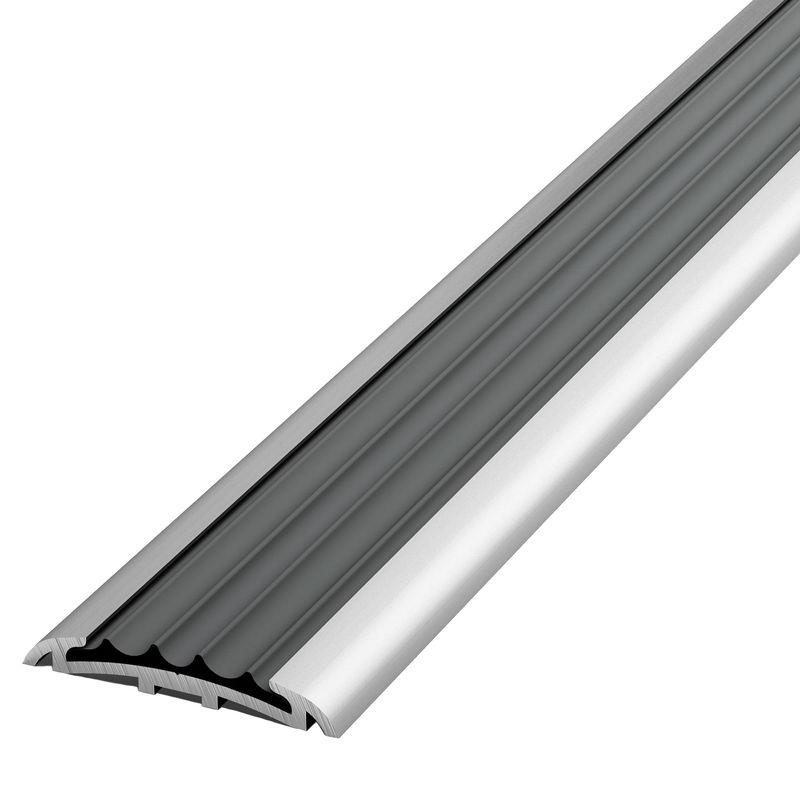 Профиль стыкоперекрывающий ПС 08-1.900.01л, серебро анод