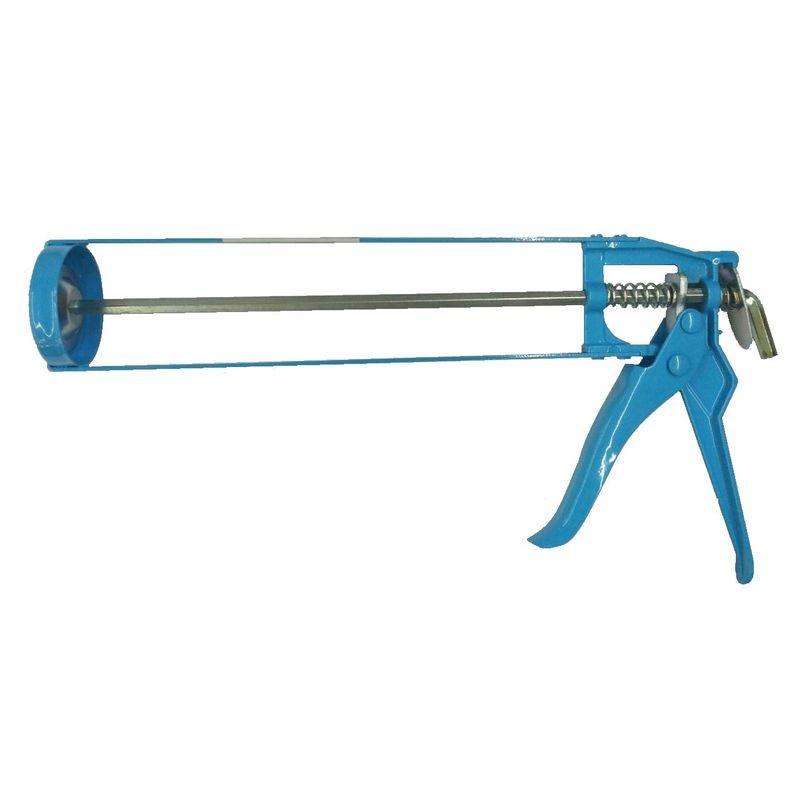 Пистолет для герметика скелетный 310мл YOKO<br>Бренд: Yoko; Конструкция: Скелетный;