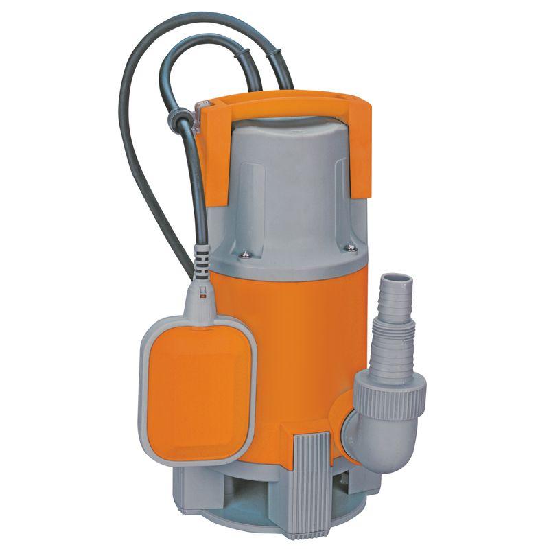 Насос погружной дренажный КРАТОН для грязной воды DWP-13<br>Вид: Погружной; Тип: Дренажный; Минимальная температура воды: 0 °С;
