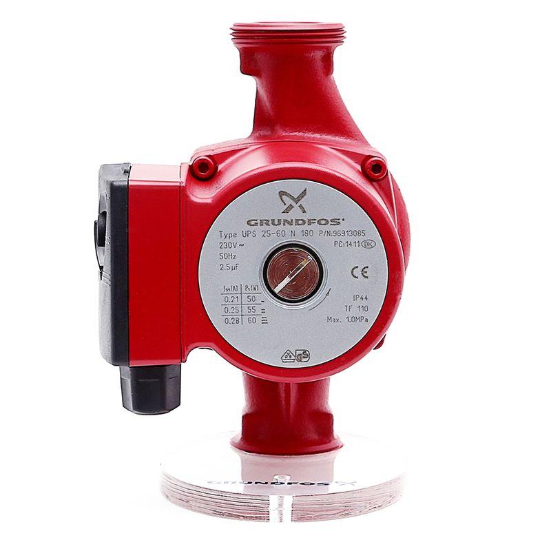 Циркуляционный насос Grundfos UPS 25-60 N (96913085)<br>Вид: Поверхностный; Тип: Циркуляционный; Применение: Для ГВС; Производительность: Q max 4,3 м?/час; Максимальный напор: 6 м; Минимальная температура рабочей среды: + 2 °С; Максимальная температура рабочей среды: + 110 °С; Количество скоростей: 3; Мощность: 60 Вт; Напряжение: 230 В; Монтажная длина: 180 мм; Вес: 3 кг; Присоединительный диаметр: 1 1/2 ; Тип ротора: Мокрый; Материал корпуса: Нержавеющая сталь; Степень защиты: IP 44; Бренд: Grundfos; Страна производитель: Германия; Модель: Ups 25-60 n; Гарантия: 3 года;