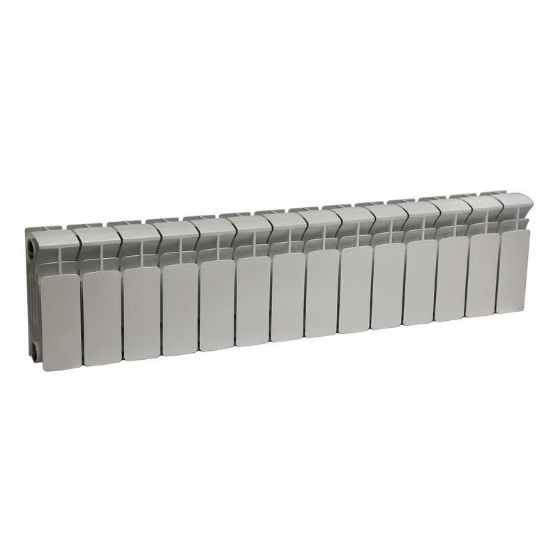 Радиатор биметаллический RIFAR B200 13 секций НП прав (BVR)<br>Межосевое расстояние: 200 мм; Глубина секции: 100 мм; Количество секций: 13; Теплоотдача секции: 101 Вт; Теплоотдача радиатора: 1313 Вт; Высота секции: 261 мм; Ширина секции: 80 мм; Объем секции: 0.16 л; Объем радиатора: 2.08 л; Максимальная температура теплоносителя: 135 c °С; Рабочее давление: 20 атм; Значение водородного показателя, оптимальное: 7-8,5 pH; Вес секции: 0.96 кг; Диаметр подключения: 3/4 ; Модель: Base; Бренд: Rifar; Цвет: Ral 9016; Страна производитель: Россия; Гарантийный срок: 10 лет; Срок эксплуатации: не менее 20 лет;