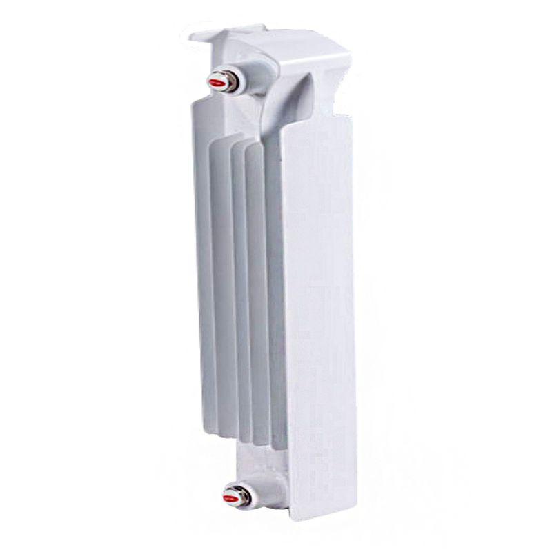 Радиатор биметаллический RIFAR Monolit 350 1 секция<br>Межосевое расстояние: 350 мм; Глубина секции: 100 мм; Количество секций: 1; Теплоотдача секции: 134 Вт; Теплоотдача радиатора: 134 Вт; Высота секции: 415 мм; Ширина секции: 80 мм; Объем секции: 0.18 л; Объем радиатора: 0.18 л; Максимальная температура теплоносителя: 135 c °С; Рабочее давление: 100 атм; Значение водородного показателя, оптимальное: 7-9 pH; Вес секции: 1.5 кг; Диаметр подключения: 3/4 ; Модель: Monolit; Бренд: Rifar; Цвет: Ral 9016; Страна производитель: Россия; Гарантийный срок: 25 лет; Срок эксплуатации: не менее 25 лет;
