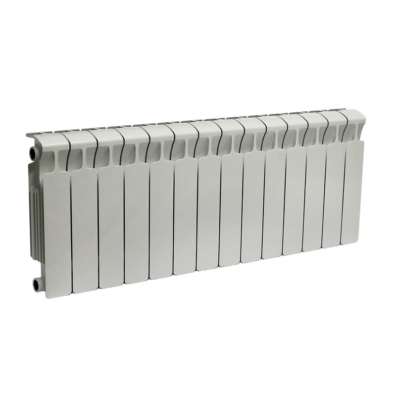 Радиатор биметаллический RIFAR Monolit 350 14 секций<br>Межосевое расстояние: 350 мм; Глубина секции: 100 мм; Количество секций: 14; Теплоотдача секции: 134 Вт; Теплоотдача радиатора: 1876 Вт; Высота секции: 415 мм; Ширина секции: 80 мм; Объем секции: 0.18 л; Объем радиатора: 2.52 л; Максимальная температура теплоносителя: 135 c °С; Рабочее давление: 100 атм; Значение водородного показателя, оптимальное: 7-9 pH; Вес секции: 1.5 кг; Диаметр подключения: 3/4 ; Модель: Monolit; Бренд: Rifar; Цвет: Ral 9016; Страна производитель: Россия; Гарантийный срок: 25 лет; Срок эксплуатации: не менее 25 лет;