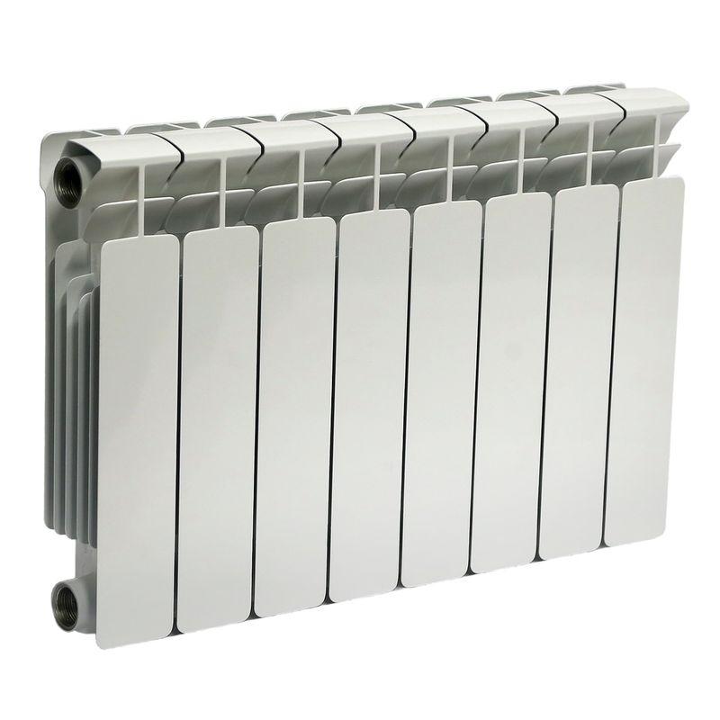 Радиатор биметаллический RIFAR В350 8 секций<br>Межосевое расстояние: 350 мм; Глубина секции: 90 мм; Количество секций: 8; Теплоотдача секции: 136 Вт; Теплоотдача радиатора: 1088 Вт; Высота секции: 415 мм; Ширина секции: 80 мм; Объем секции: 0.18 л; Объем радиатора: 1.44 л; Максимальная температура теплоносителя: 135 c °С; Рабочее давление: 20 атм; Значение водородного показателя, оптимальное: 7-8,5 pH; Вес секции: 1.36 кг; Диаметр подключения: 1 ; Модель: Base; Бренд: Rifar; Цвет: Ral 9016; Страна производитель: Россия; Гарантийный срок: 10 лет; Срок эксплуатации: не менее 20 лет;