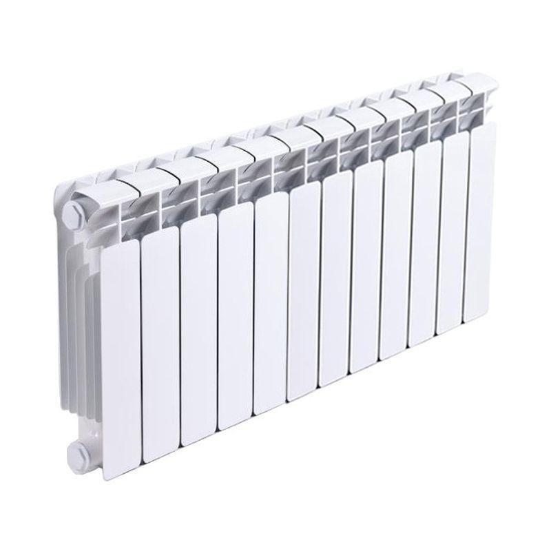 Радиатор биметаллический RIFAR Base Ventil 350 7 секций BVRL<br>Межосевое расстояние: 350 мм; Глубина секции: 90 мм; Количество секций: 7; Теплоотдача секции: 136 Вт; Теплоотдача радиатора: 952 Вт; Высота секции: 415 мм; Ширина секции: 80 мм; Объем секции: 0.18 л; Объем радиатора: 1.26 л; Максимальная температура теплоносителя: 135 c °С; Рабочее давление: 20 атм; Значение водородного показателя, оптимальное: 7-8,5 pH; Вес секции: 1.36 кг; Диаметр подключения: 3/4 ; Модель: Base; Бренд: Rifar; Цвет: Ral 9016; Страна производитель: Россия; Гарантийный срок: 10 лет; Срок эксплуатации: не менее 20 лет;