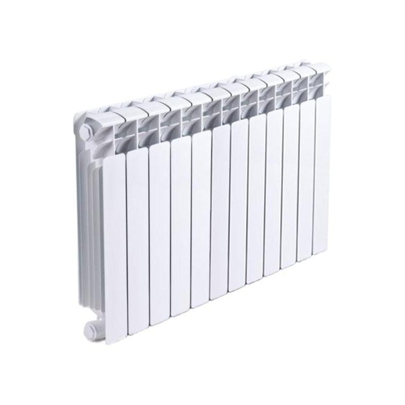 Радиатор биметаллический RIFAR Base Ventil 500 7 секций BVRL<br>Межосевое расстояние: 500 мм; Глубина секции: 100 мм; Количество секций: 7; Теплоотдача секции: 204 Вт; Теплоотдача радиатора: 1428 Вт; Высота секции: 570 мм; Ширина секции: 80 мм; Объем секции: 0.2 л; Объем радиатора: 1.4 л; Максимальная температура теплоносителя: 135 c °С; Рабочее давление: 20 атм; Значение водородного показателя, оптимальное: 7-8,5 pH; Вес секции: 1.92 кг; Диаметр подключения: 3/4 ; Модель: Base; Бренд: Rifar; Цвет: Ral 9016; Страна производитель: Россия; Гарантийный срок: 10 лет; Срок эксплуатации: не менее 20 лет;