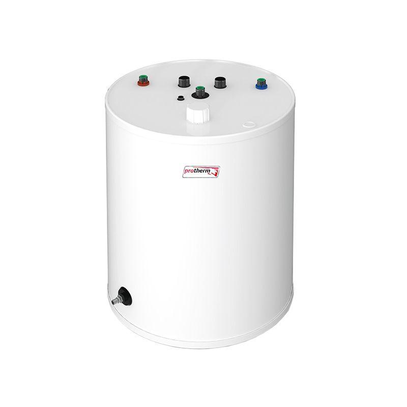 Бойлер косвенного нагрева Protherm FE 120/6 BM (0010015963)Бойлер косвенного нагрева Protherm FE 120/6 BM <br><br>Цилиндрический накопительный бойлер косвенного нагрева, может использоваться в комплекте с настенными одноконтурными газовыми, электрическими и напольными чугунными котлами Protherm (мощностью до 100 кВт).<br><br>НАЗНАЧЕНИЕ:<br><br>Подогрев воды для хозяйственных и бытовых нужд.<br><br>ПРЕИМУЩЕСТВА:<br><br>Объем 117 литров;<br><br>Напольная установка обеспечивает удобство монтажа;<br><br>Экономичность использования (нагрев происходит за счет тепла воды из отопительной системы);<br><br>Возможность подачи горячей воды в нескольких направлениях (ванная комната, кухня);<br><br>Максимальный нагрев воды до 80 градусов;<br><br>Постоянное поддержание заданной температуры;<br><br>Возможность регулировки температурного режима;<br><br>Защита от накипи и коррозии благодаря эмалированной внутренней поверхности и магниевому аноду;<br><br>Теплоизоляция из полиуретана значительно уменьшает потери тепла в бойлере;<br><br>Спаренный стальной трубчатый теплообменник, расположенный в нижней части бойлера (гарантирует быстрый нагрев и значительно увеличивает запас горячей воды);<br><br>Время нагрева воды с 10&amp;deg;C до 60&amp;deg;C &amp;ndash; 23 минуты;<br><br>Подача горячей воды до 20,5 литров в минуту;<br><br>Сливной штуцер для быстрого опустошения бака.<br><br>РЕКОМЕНДАЦИИ:<br><br>Рекомендации по работе:<br><br>Перед началом эксплуатации необходимо ознакомиться с техническими характеристиками, инструкцией и техникой безопасности при обслуживании и управлении работой бойлера;<br><br>Залив воды можно проводить только после полного завершения монтажа;<br><br>При отключении бойлера и хранении его в неотапливаемом помещении длительное время, воду необходимо слить;<br><br>Запрещено закрывать предохранительный клапан, это приведет к повышению давления внутри накопительного бака;<br><br>Не подвергать воздействию высоких температур, ударов, вибраций.<br><br>Рекомендации по обсл