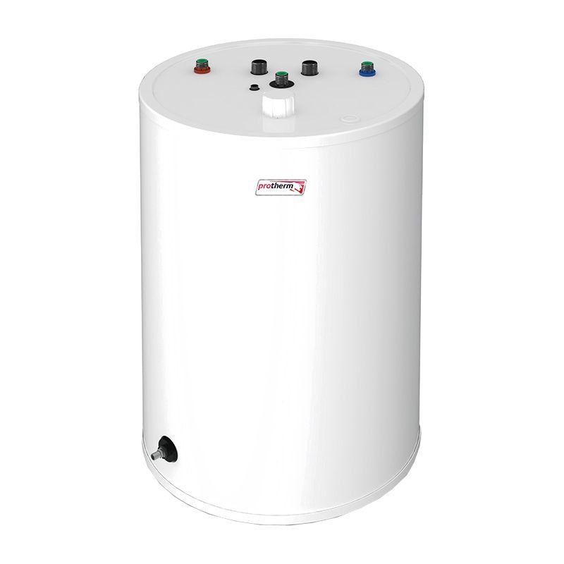 Бойлер косвенного нагрева Protherm FE 150/6 BM (0010015964)Бойлер косвенного нагрева Protherm FE 150/6 BM <br><br>Цилиндрический накопительный бойлер косвенного нагрева, может использоваться в комплекте с настенными одноконтурными газовыми, электрическими и напольными чугунными котлами Protherm (мощностью до 100 кВт).<br><br>НАЗНАЧЕНИЕ:<br><br>Подогрев воды для хозяйственных и бытовых нужд.<br><br>ПРЕИМУЩЕСТВА:<br><br>Объем 144 литра;<br><br>Напольная установка обеспечивает удобство монтажа;<br><br>Экономичность использования (вода в бойлере нагревается отопительной водой и не требует дополнительной энергии);<br><br>Возможность подачи горячей воды в нескольких направлениях (ванная комната, кухня);<br><br>Максимальный нагрев воды до 80 градусов;<br><br>Постоянное поддержание заданной температуры;<br><br>Возможность регулировки температурного режима;<br><br>Защита от накипи и коррозии благодаря эмалированной внутренней поверхности и магниевому аноду;<br><br>Теплоизоляция из полиуретана значительно уменьшает потери тепла в бойлере;<br><br>Спаренный стальной трубчатый теплообменник, расположенный в нижней части бойлера (гарантирует быстрый нагрев и значительно увеличивает запас горячей воды);<br><br>Время нагрева воды с 10&amp;deg;C до 60&amp;deg;C &amp;ndash; 27 минут;<br><br>Подача горячей воды до 25,3 литров в минуту;<br><br>Сливной штуцер для быстрого опустошения бака.<br><br>РЕКОМЕНДАЦИИ:<br><br>Рекомендации по работе:<br><br>Перед началом эксплуатации необходимо ознакомиться с техническими характеристиками, инструкцией и техникой безопасности при обслуживании и управлении работой бойлера;<br><br>Залив воды можно проводить только после полного завершения монтажа;<br><br>При отключении бойлера и хранении его в неотапливаемом помещении длительное время, воду необходимо слить;<br><br>Запрещено закрывать предохранительный клапан, это приведет к повышению давления внутри накопительного бака;<br><br>Не подвергать воздействию высоких температур, ударов, вибраций.<br><br>Р