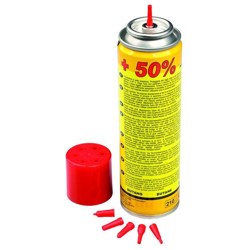 Баллон с газом KEMPER 10051 (150мл/90гр, для заправки ламп 10500 и 12500, 100% Бутан)<br>Бренд: KEMPER; Модель: 10051; Код производителя: 10051; Назначение: Для паяльных ламп; Соединение: Резьбовое; Тип баллона: Одноразовый; Состав газа: 100 % технический бутан; Резьба: 7/16 ; Объем баллона: 150 мл; Температура пламени: 1200 °С; Температура пламени с использованием кислорода: 2850 °С; Родина бренда: Италия; Страна производитель: Италия; Вес: 0.09 кг;