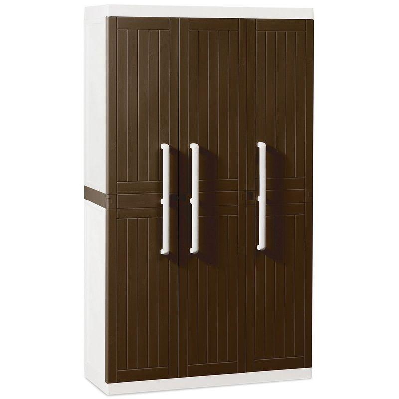 Шкаф 3х дверный узкий WOOD LINE S, арт. 257<br>
