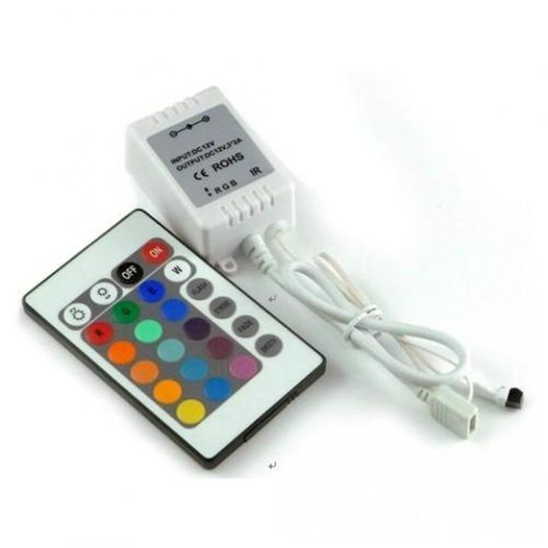 Контроллер для lt-5050-60-220v rgb на 10 метров ленты<br>