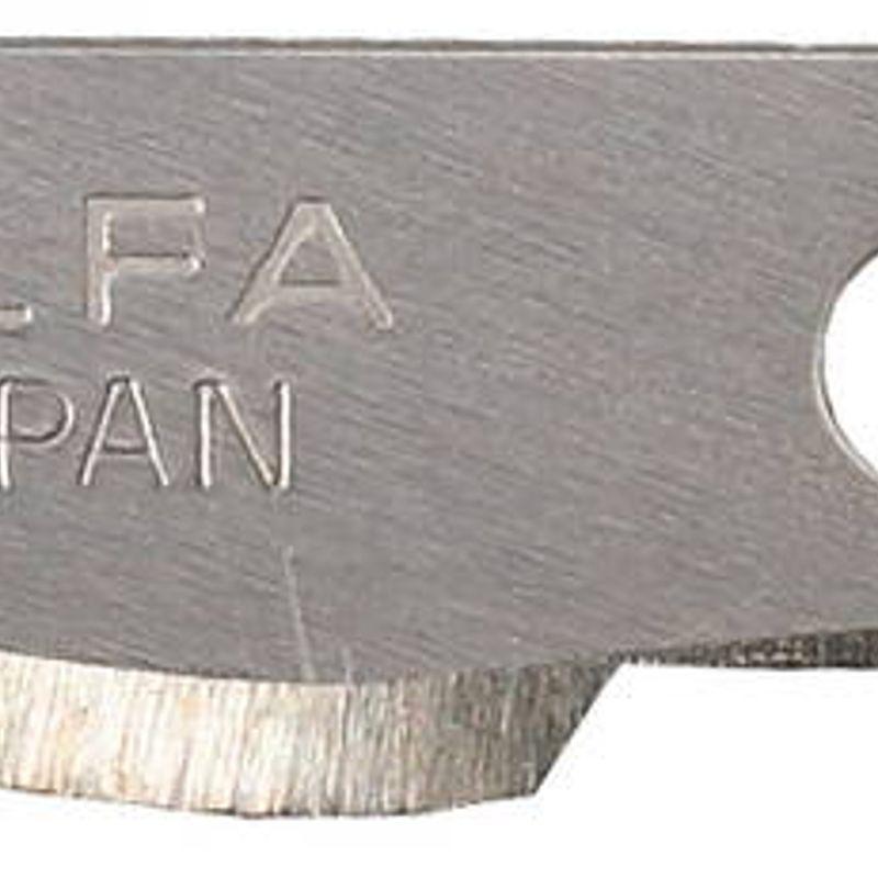 Лезвия закругленные Olfa для ножа AK-4, 6(8)×38×0,45 мм, 5 шт