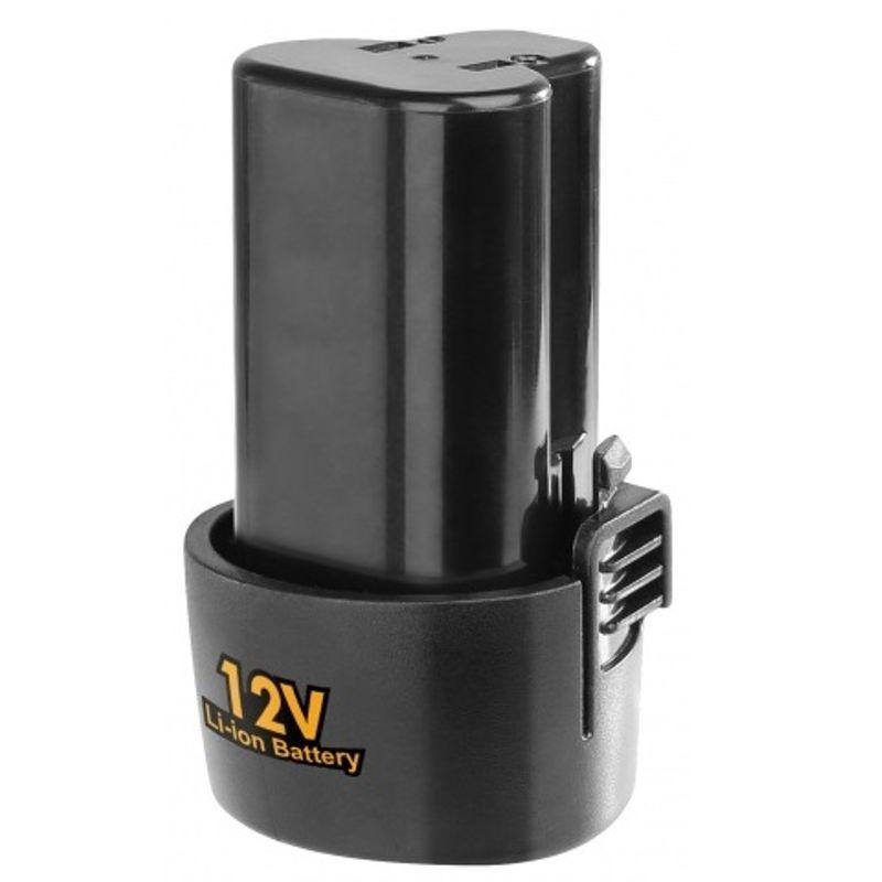 Аккумулятор для шуруповерта INGCO BATLI228120<br>Бренд: Ingco; Модель: BATLI228120; Тип аккумулятора: Li-Ion; Форм-фактор: Обойма; Емкость аккумулятора: 1500 мАч; Напряжение: 12 В; Комплектация: Аккумулятор; Комплектация: Коробка; Родина бренда: Китай; Страна производитель: Китай; Гарантия: 12 мес; Вес: 2,080 кг;