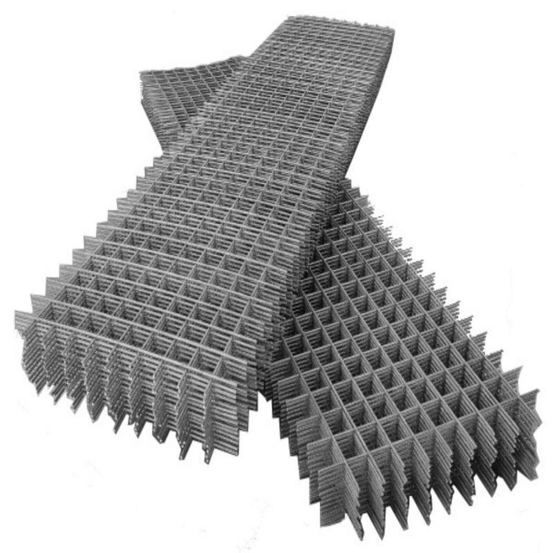 Сетка сварная дорожная 150х150мм d=5мм, (2х6м)<br>Материал: Сталь; Покрытие: Без покрытия; Размер ячейки: 150х150 мм; Диаметр проволоки: 5 мм; Ширина: 2 м; Длина: 6 м; Форма выпуска: В картах;