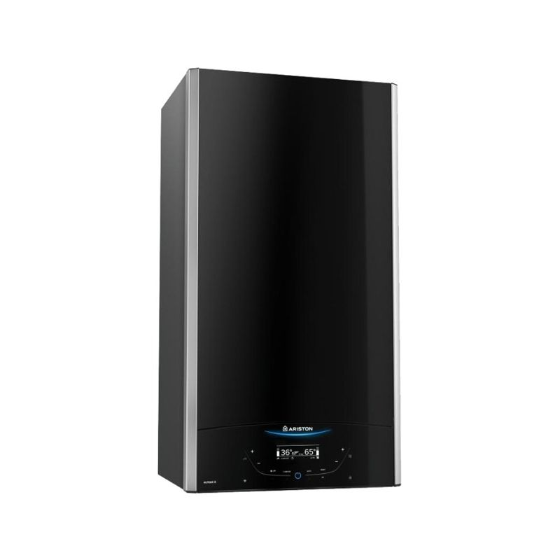 Котел настенный газовый Ariston ALTEAS X 35 FF NG (3300849)Котел настенный газовый Ariston ALTEAS X 35 FF NG (3300849)<br><br>Настенный газовый котёл от Ariston, двухконтурный, обладающий мощностью в 35 кВт.<br><br>НАЗНАЧЕНИЕ:<br><br>Используется при отапливании загородных частных домов и дач, а также производственных и промышленных зданий.<br><br>Общая площадь отапливаемого помещения не должна превышать 350 кв.м.<br><br>ПРЕИМУЩЕСТВА:<br><br>Горелка выполнена из нержавеющей стали, первичный ТЭН &amp;ndash; из алюминия;<br>Встроен циркуляционный насос с защитой от блокировки;<br>Сенсорный дисплей позволяет осуществлять настройку и визуализацию множества рабочих параметров котла вместе с различными режимами работы;<br>Функция Comfort позволит&amp;nbsp;вам получить сильный напор горячей воды буквально за несколько секунд;<br>Используя функцию Auto и внешние температурные датчики, вы можете обеспечить погодозависимую рациональную работу ТЭНа,<br><br>которая продлит его срок действия и позволить сохранять постоянную оптимальную температуру в помещении;<br>В том числе, для лета можно оставить только ГВС;<br>Котёл отлично работает в российских условиях, с холодной температурой на улице, перепадами давления в системе отопления и напряжения в электросети;<br>Котёл обладает закрытой камерой сгорания, поэтому для выведения дыма из помещения у него имеется специальный вентилятор;<br><br>РЕКОМЕНДАЦИИ:<br><br>Для корректной работы платы котла подключайте его в сеть с напряжением 220В, помимо этого&amp;nbsp;также рекомендуется установить стабилизатор напряжения.<br><br>Помимо вентилятора для выведения дыма можете также установить коаксиальный дымоотвод.<br><br>МЕРЫ ПРЕДОСТОРОЖНОСТИ:<br><br>Если от котла начал исходить запах гари и дыма, следует сразу же отключить электропитание и перекрыть газ. После чего можете вызывать техника.<br>Страна производитель: Италия; Бренд: Ariston; Родина бренда: Италия; Модельный ряд: Alteas x; Модель: Alteas x 35 ff ng; Тип установки: Настенный; Кол