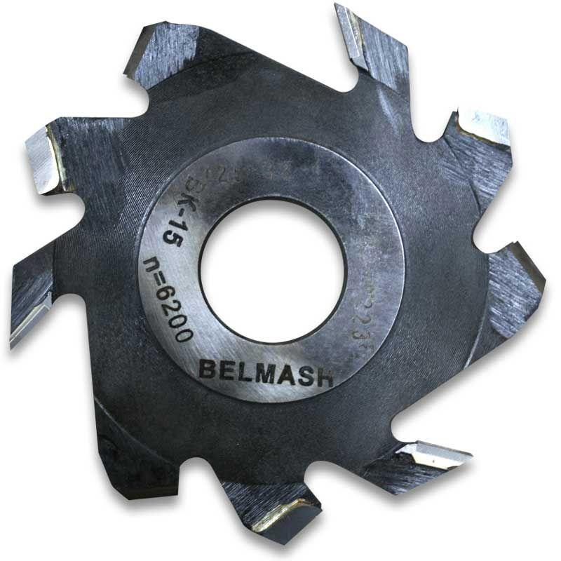 Фреза пазовая с подрезающими зубьями, БЕЛМАШ RF0029A 125х32х4 мм<br>Бренд: Belmash; Модель: RF0029A; Вид: Насадка; Форма: Пазовая; Материал: Твердый сплав; Длина: 125 мм; Внешний диаметр: 125 мм; Внутренний диаметр: 32 мм; Диаметр хвостовика: 32 мм; Обрабатываемый материал: Дерево; Количество в упаковке: 1 шт; Родина бренда: Беларусь; Страна производитель: Украина; Гарантия: Нет мес; Вес: 0,21 кг;