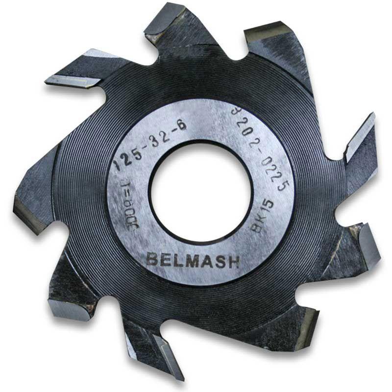 Фреза пазовая с подрезающими зубьями, БЕЛМАШ RF0018A 125х32х6 мм<br>Бренд: Belmash; Модель: RF0018A; Вид: Насадка; Форма: Пазовая; Материал: Твердый сплав; Рабочая высота: 46 мм; Длина: 125 мм; Внешний диаметр: 125 мм; Внутренний диаметр: 32 мм; Диаметр хвостовика: 32 мм; Обрабатываемый материал: Дерево; Количество в упаковке: 1 шт; Родина бренда: Беларусь; Страна производитель: Украина; Гарантия: Нет мес; Вес: 0,3 кг;