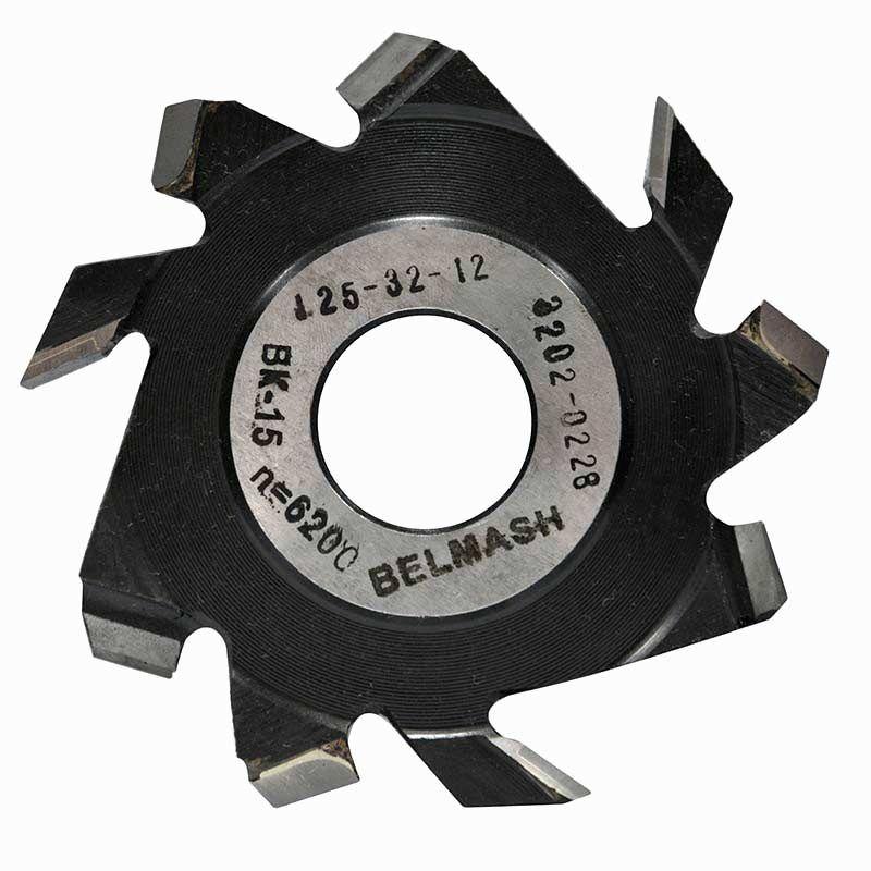 Фреза пазовая с подрезающими зубьями, БЕЛМАШ RF0047A 160х32х12 мм<br>Бренд: Belmash; Модель: RF0047A; Вид: Насадка; Форма: Пазовая; Материал: Твердый сплав; Рабочая высота: 64 мм; Длина: 160 мм; Внешний диаметр: 160 мм; Внутренний диаметр: 32 мм; Диаметр хвостовика: 32 мм; Обрабатываемый материал: Дерево; Количество в упаковке: 1 шт; Родина бренда: Беларусь; Страна производитель: Украина; Гарантия: Нет мес; Вес: 0,89 кг;