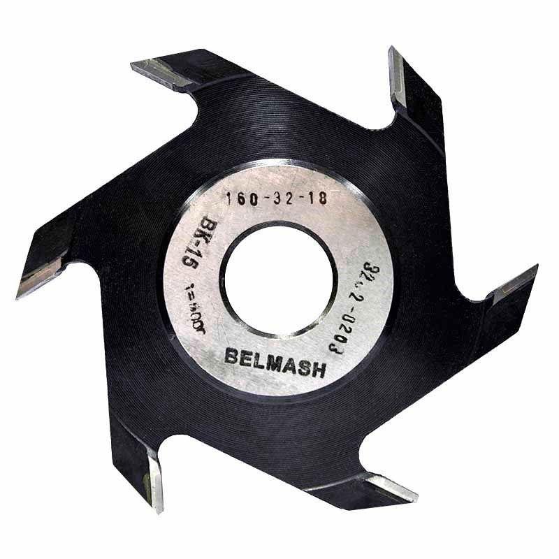 Фреза пазовая, БЕЛМАШ RF0052A 160х32х18 мм<br>Бренд: Belmash; Модель: RF0052A; Вид: Насадка; Форма: Пазовая; Материал: Твердый сплав; Рабочая высота: 64 мм; Длина: 160 мм; Внешний диаметр: 160 мм; Внутренний диаметр: 32 мм; Диаметр хвостовика: 32 мм; Обрабатываемый материал: Дерево; Количество в упаковке: 1 шт; Родина бренда: Беларусь; Страна производитель: Украина; Гарантия: Нет мес; Вес: 1,33 кг;